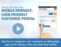ClassJuggler Customer Portal